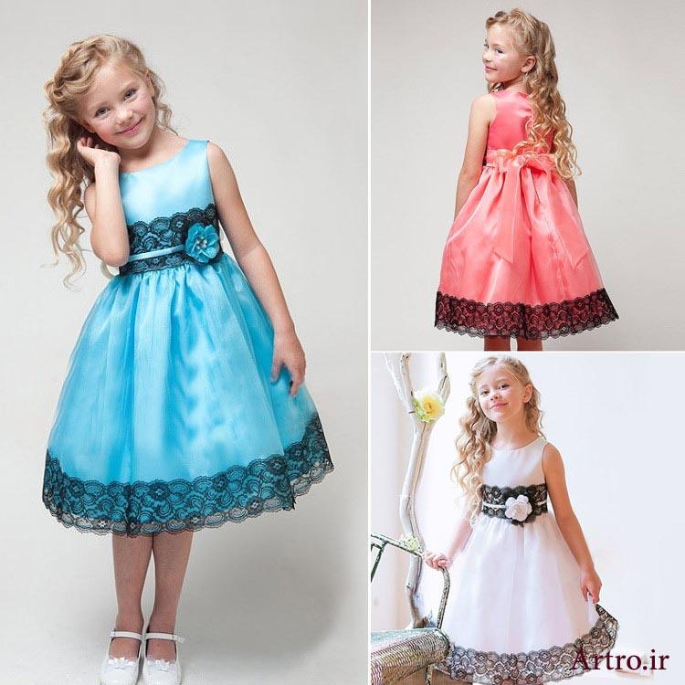 لباس مجلسی دختربچه1