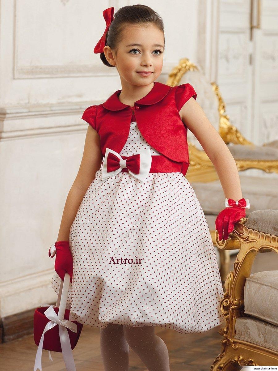 لباس مجلسی دختربچه