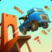 دانلود Bridge Constructor Stunts 1.4 – بازی پل سازی خارق العاده اندروید + مود
