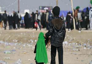 عشق و ارادت به امام حسین (ع) کوچک و بزرگ نمیشناسد + فیلم