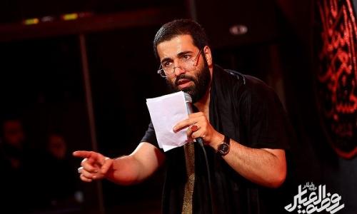 8 مداحی حاج حسین سیب سرخی برای شهادت امام حسن 96