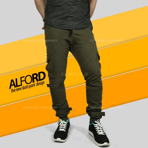 شلوار اسلش مردانه ALFORD سبز