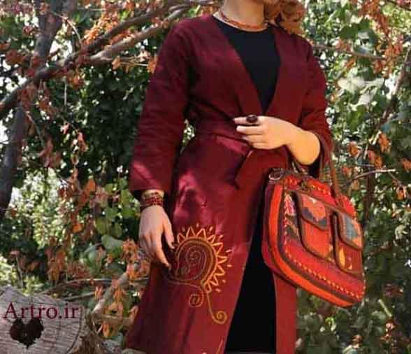 مدل مانتو سنتی ایرانی97