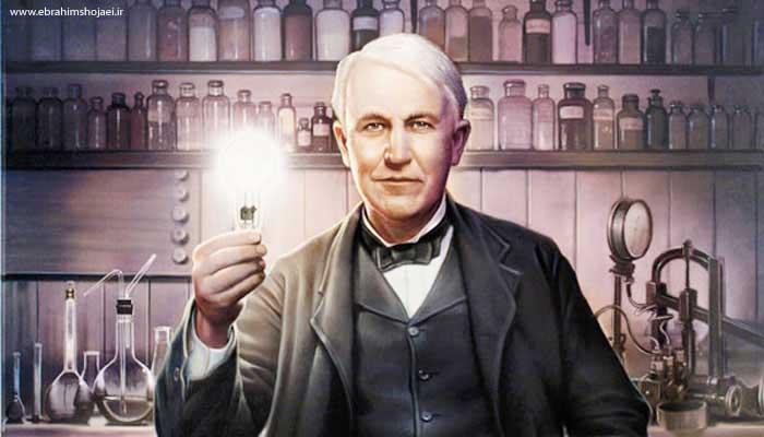 زندگی نامه توماس ادیسون Thomas Alva Edison
