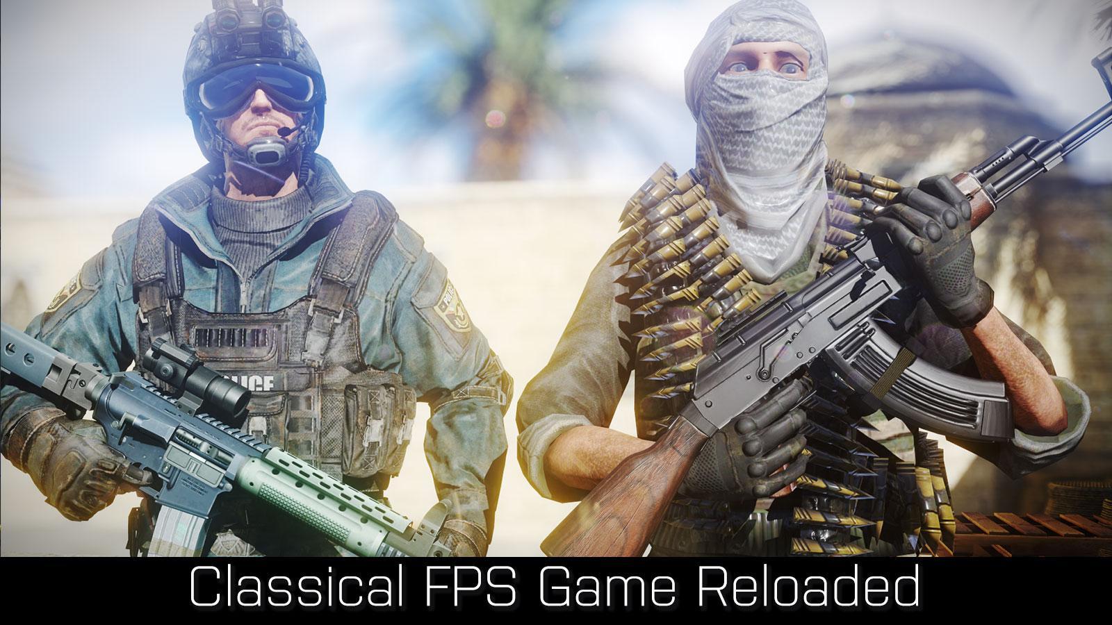 دانلود رایگان بازی Overkill Strike:Counter Terrorist FPS Shoot Game برای اندروید
