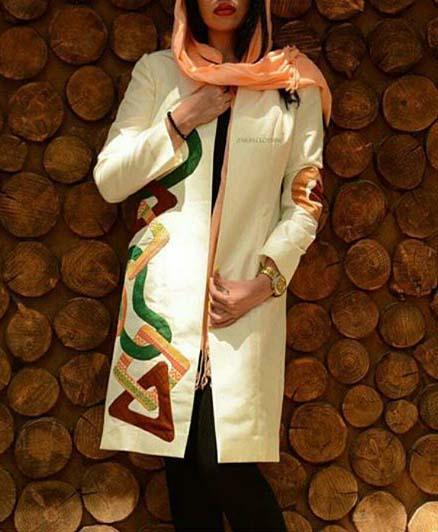مدل مانتو جدید دخترانه 2017