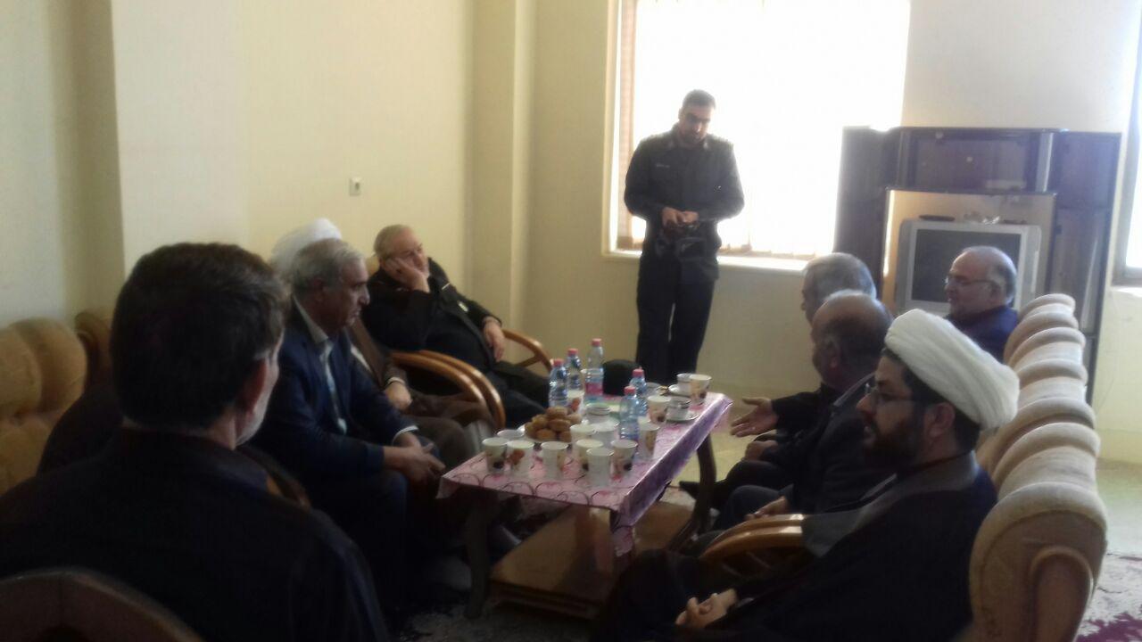 جلسه با سردار رحیم صفوی