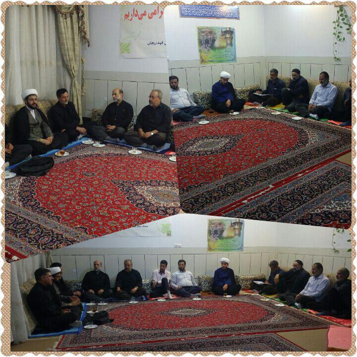 برگزاری جلسه ستاد نماز جمعه با حضور امام جمعه محترم شهر
