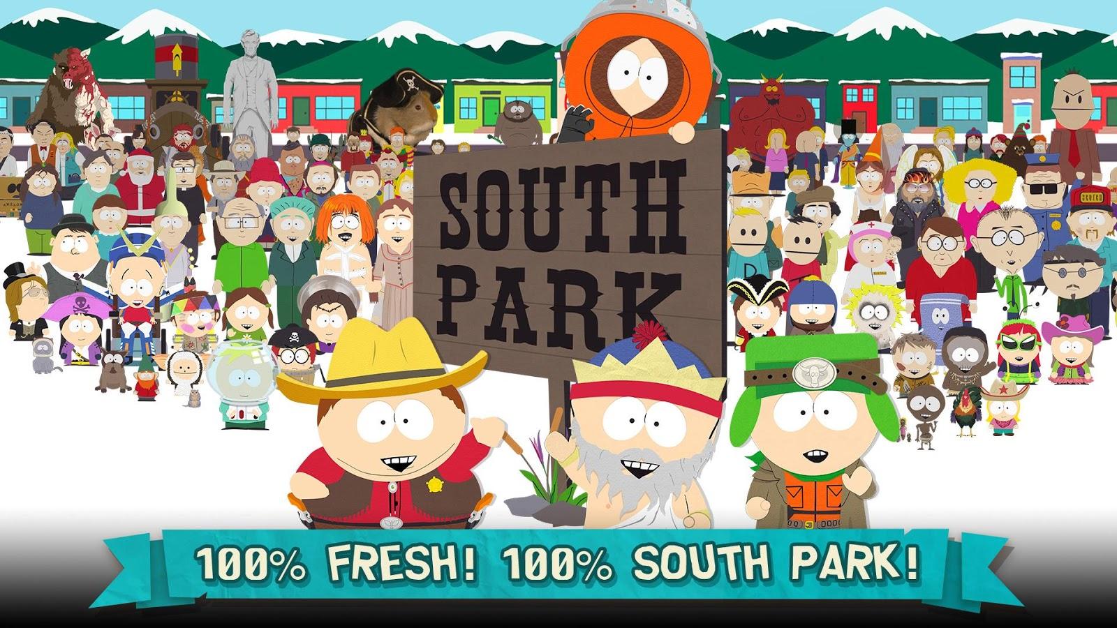 دانلود رایگان بازی پارک جنوبی : تخریب گر تلفن South Park: Phone Destroyer™