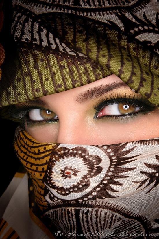 مدل آرایش چشم عربی5