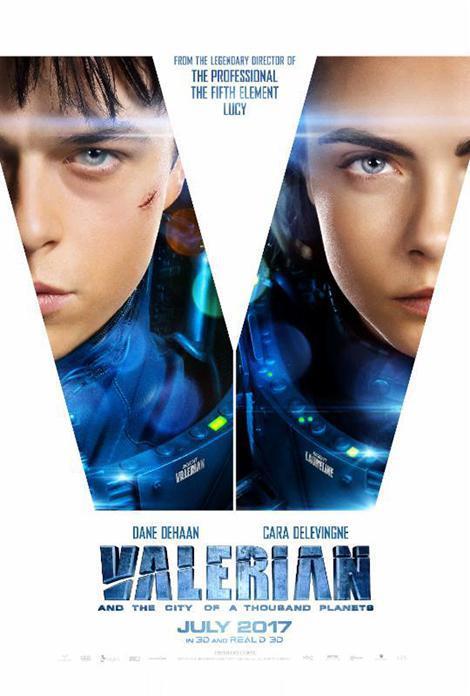 دانلود فیلم والرین و شهر هزار سیاره Valerian and the City of a Thousand Planets 2017