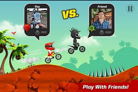 دانلود بازی موتور سواری برای اندروید - Bike Up v1.0.1.62