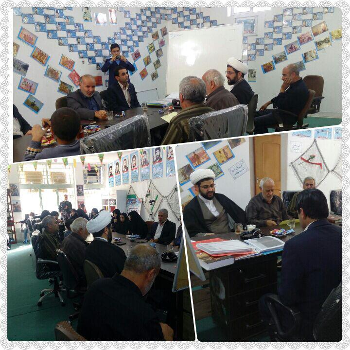 حضور و سخنرانی امام جمعه محترم شهر قهدریجان در مراسم کنگره شهدا شهر