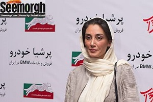 متنی که هدیه تهرانی به زبان کردی برای ابراز همدردی منتشر کرد