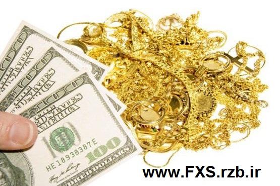 نوسات نرخ طلا وابسته به دلار