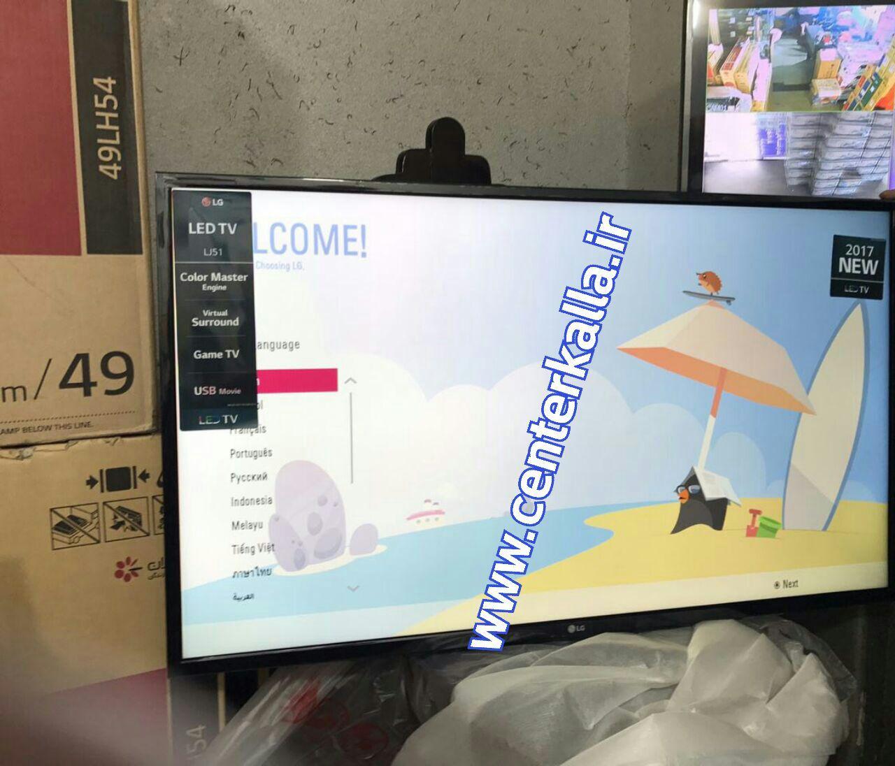 تلویزیون ال ای دی ال جی LG مدل LH510 با 2 تا گیرنده داخلی usb hdmi... کیفیت فول اچ دی ساخت کره
