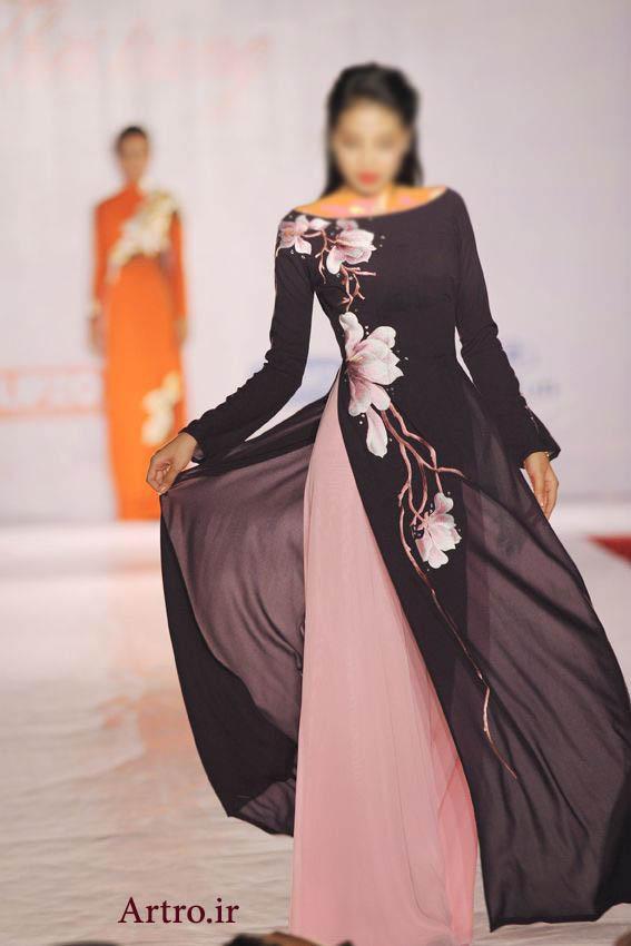 لباس مجلسی پوشیده زنانه 2018