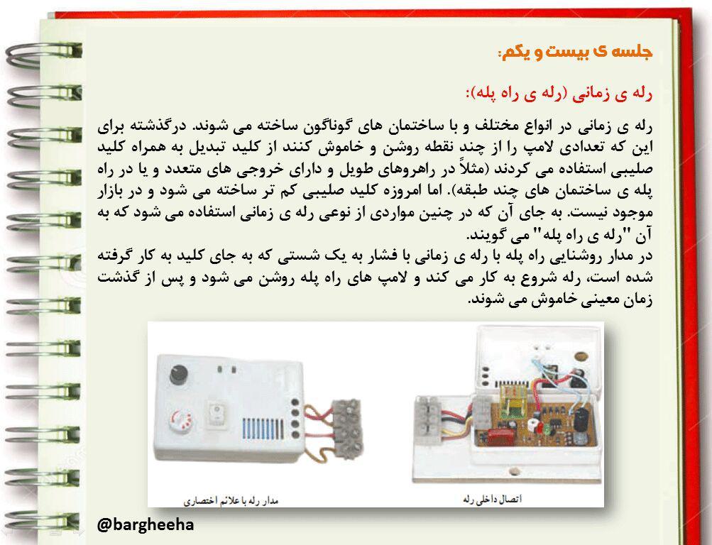 آموزش برق ساختمان جلسه21تا35