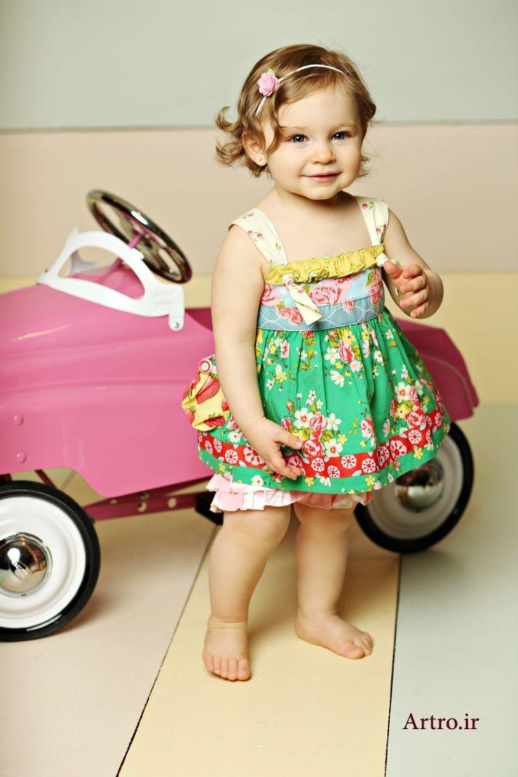 مدل لباس دختربچه 97