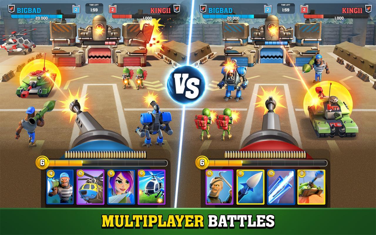 دانلود رایگان میگتی باتلز Mighty Battles