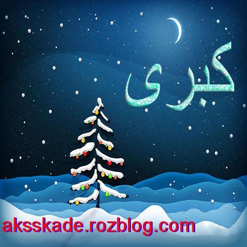 اسم زمستانی کبری - عکس کده