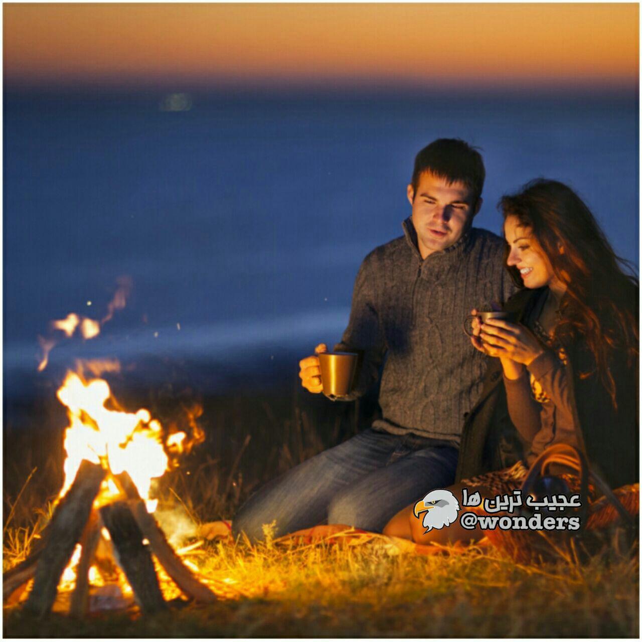 نشستن کنار آتش از کشیدن سیگار مضرتر است
