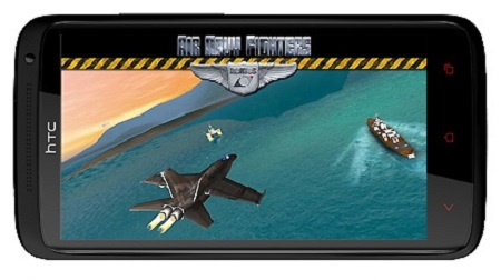 دانلود بازی شبیه ساز هواپیما جنگنده اندروید - Air Navy Fighters 3.0.1