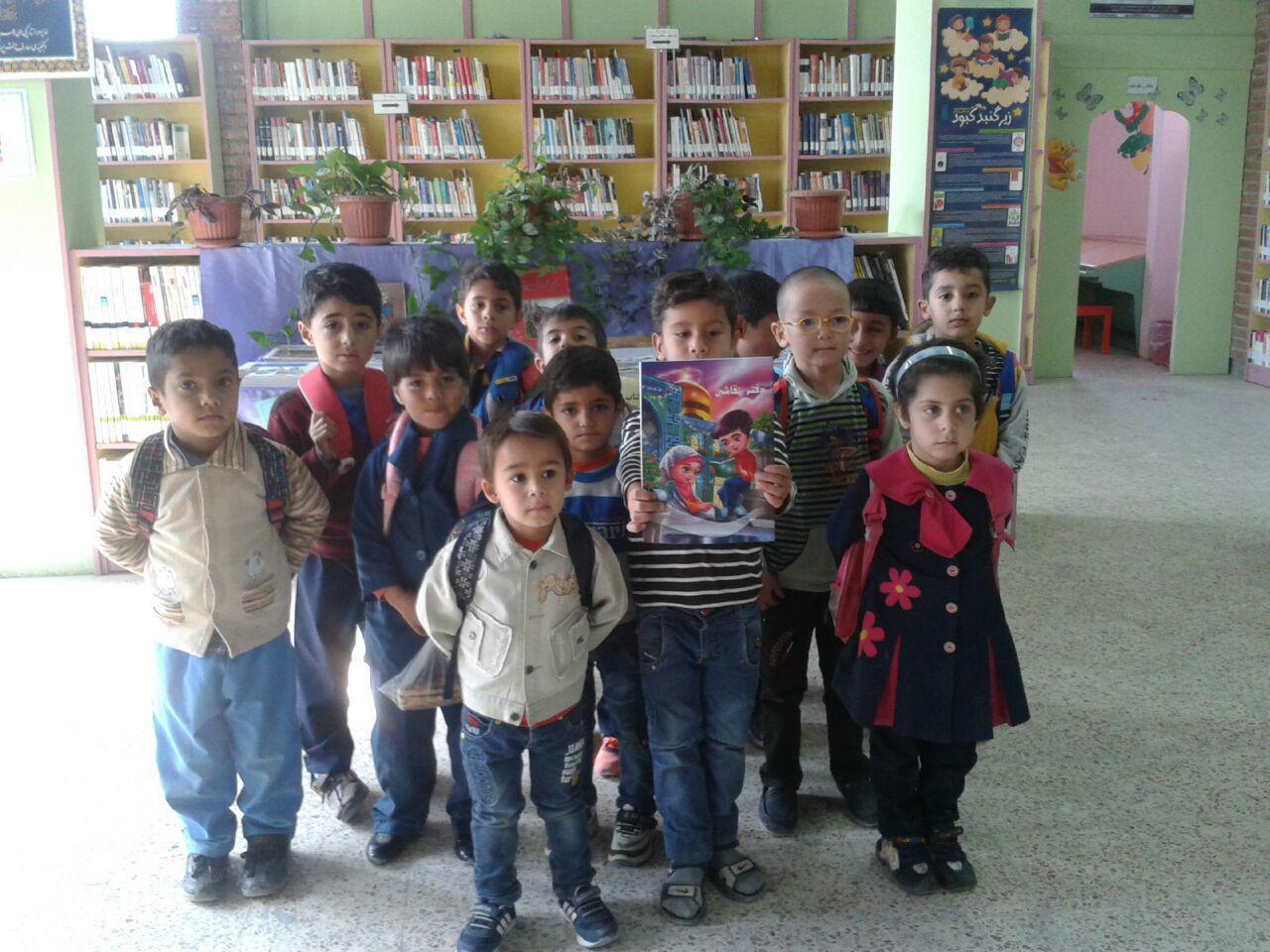 هفته کتاب با کوچولوهای پیش دبستانی