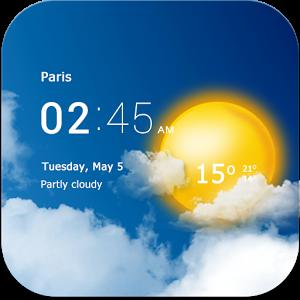 برنامه اندروید » وضعیت آب و هوا » دانلود Transparent clock weather Pro 0.99.50.06 – تشخیص آب و هوا برای اندروید