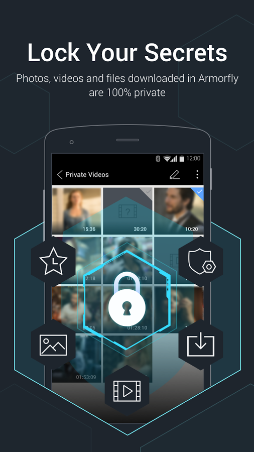 دانلود رایگان برنامه آرمورفلی براوزر و دانلودر Armorfly Browser & Downloader - Private , Safe