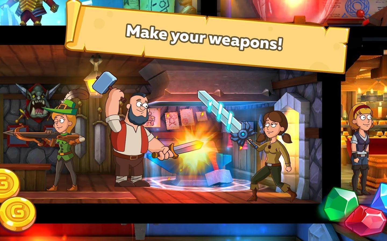 دانلود Hustle Castle: Fantasy Kingdom 1.5.7 - بازی پادشاهی رویایی برای اندروید و آی او اس + مود