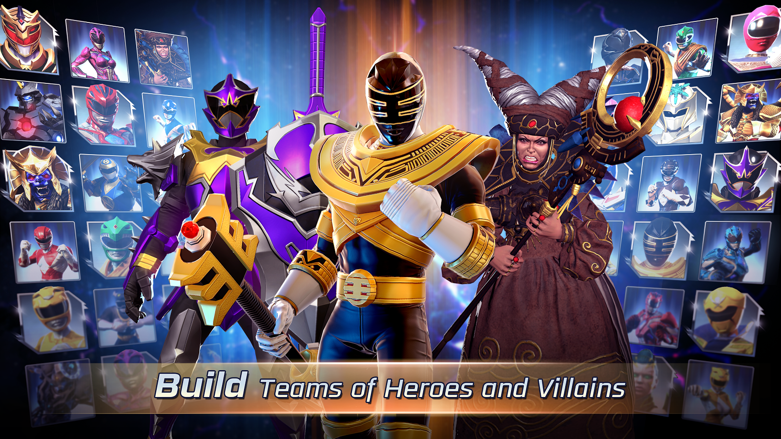 دانلود قدرت تکاور ها Power Rangers: Legacy Wars