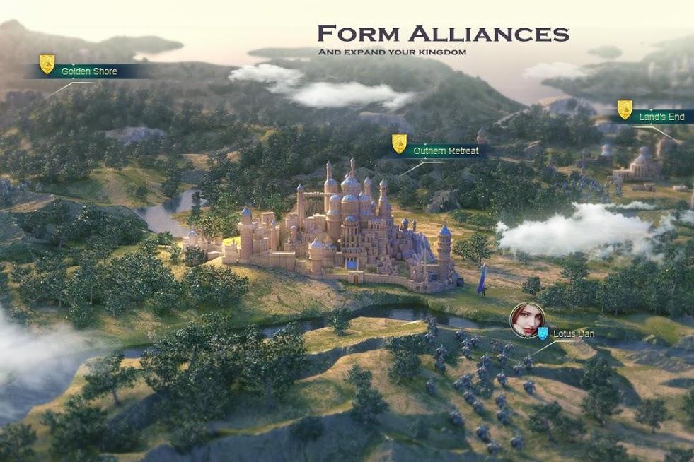 دانلود Art of Conquest: Dragon Dawn 1.18.31 - بازی استراتژیک هنر فتح برای اندروید و آی او اس + دیتا