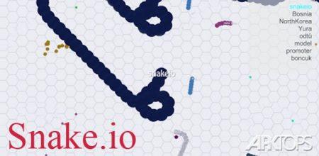 جدیدترین نسخه بازی Snake.io اندروید