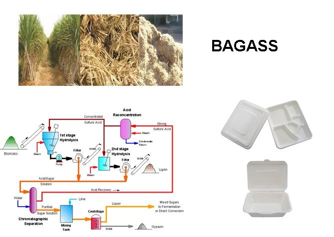 کاربرد باگاس در صنایع مختلف