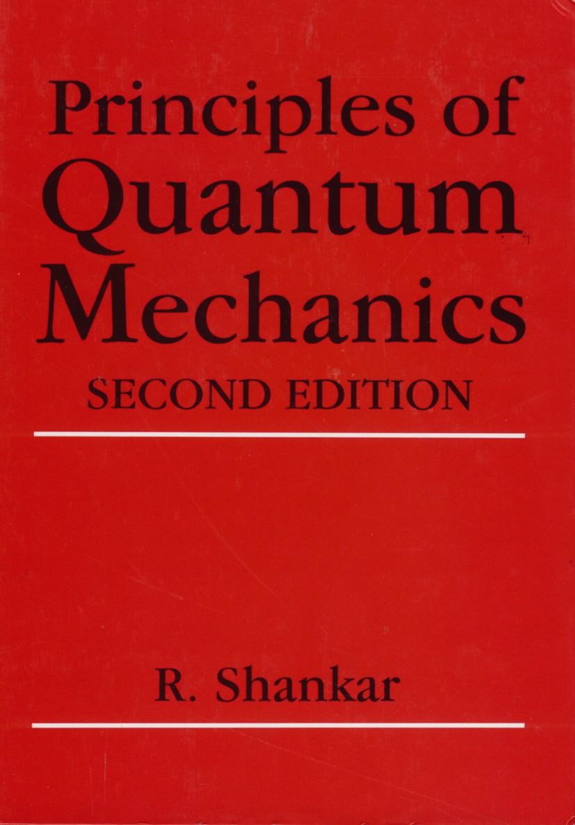 حل تمرین کتاب اصول مکانیک کوانتومی Shankar - ویرایش دوم