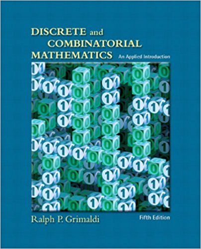 حل تمرین کتاب مقدمه ای کاربردی بر ریاضیات گسسته و ترکیبی Grimaldi - ویرایش پنجم