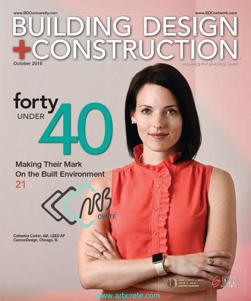 مجله آمریکایی Building Design + Construction ماه اکتبر 2016