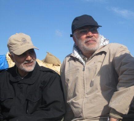 فیلم دیده نشده از سردار سیلمانی در خط مقدم جنگ با داعش