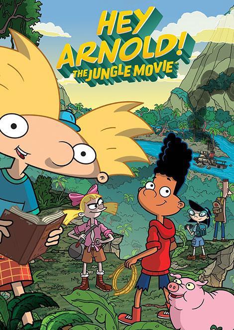 دانلود انیمیشن هی آرنولد: جنگل Hey Arnold: The Jungle Movie 2017