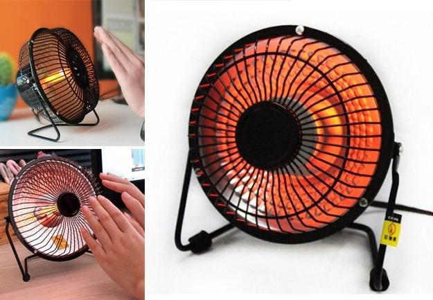 هیتر برقی مدل پنکه - بخاری برقی فن دار