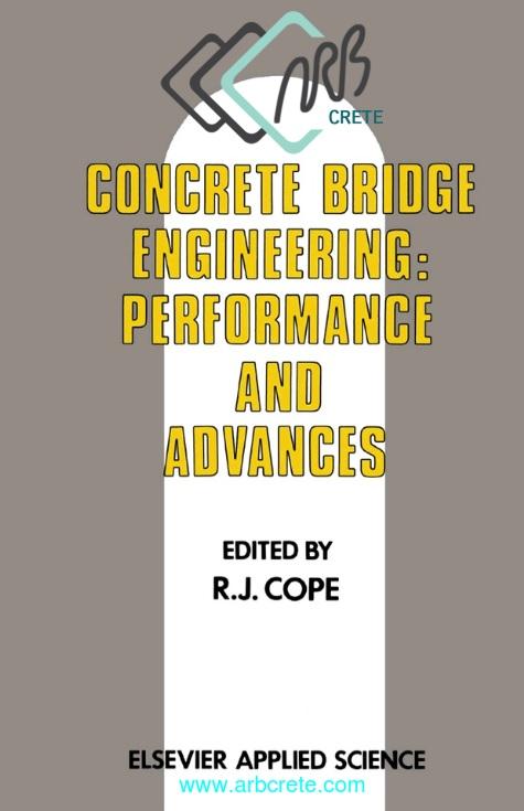 کتاب لاتین مهندسی پل بتنی کوپه