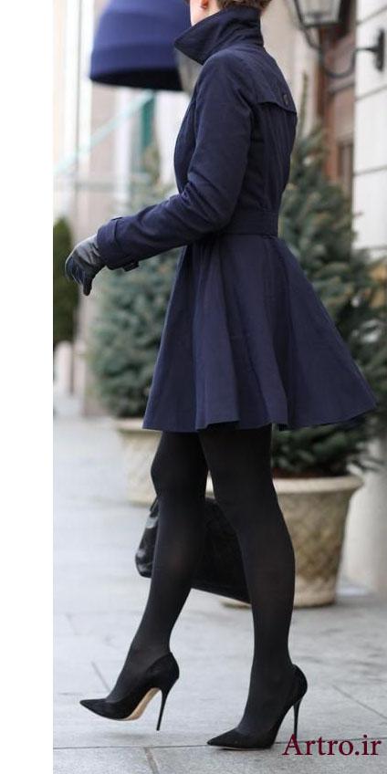 مدل پالتو شیک دخترانه 2018