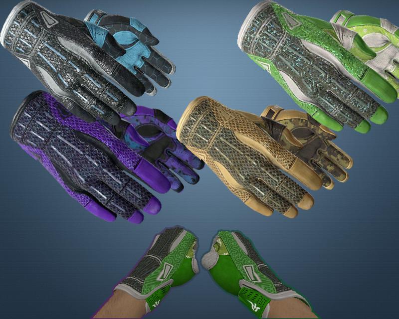 دانلود پک دستکش  Sport Gloves rig CS:GO برای کانتر 1.6