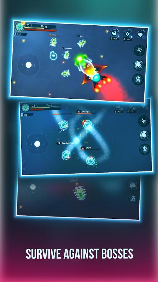دانلود بازی تعامل باکتری Bacter.io Evolution