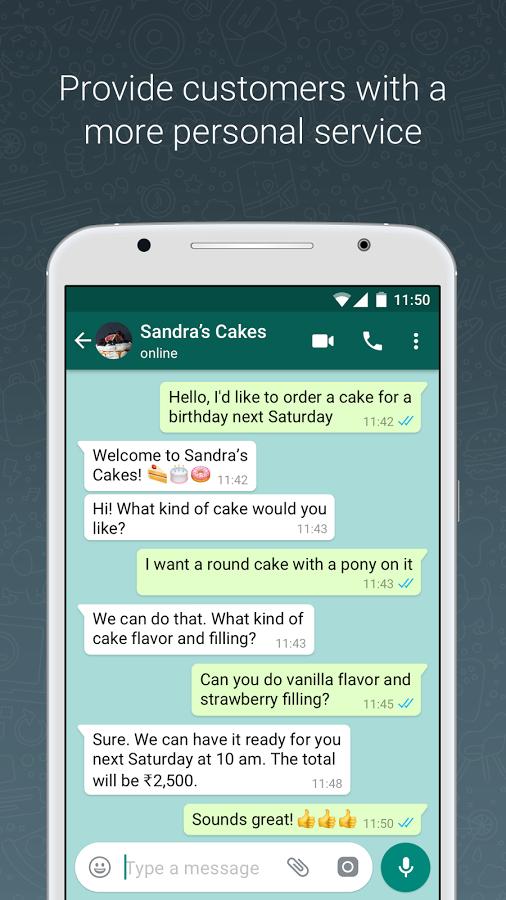 دانلود رایگان برنامه واتساب بیزنس WhatsApp Business