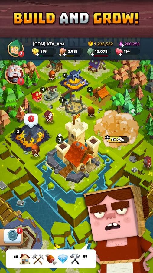 دانلود Kingdoms of Heckfire 1.40 - بازی استراتژیک امپراطوری هک فایر برای اندروید و آی او اس