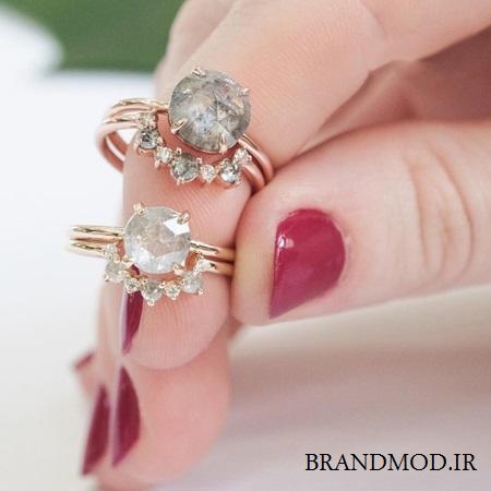 مدل انگشتر شیک و زیبا مناسب برای عروسی و نامزدی برند POINT