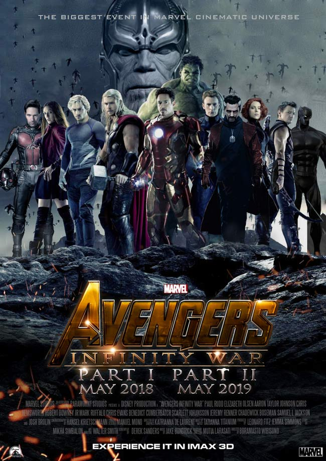دانلود فیلم Avengers Infinity War 2018 با لینک مستقیم