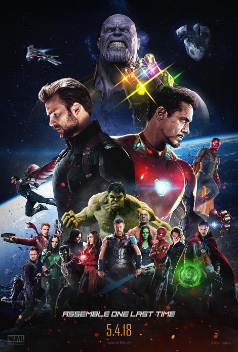 دانلود فیلم انتقام جویان: جنگ ابدیت Avengers: Infinity War 2018